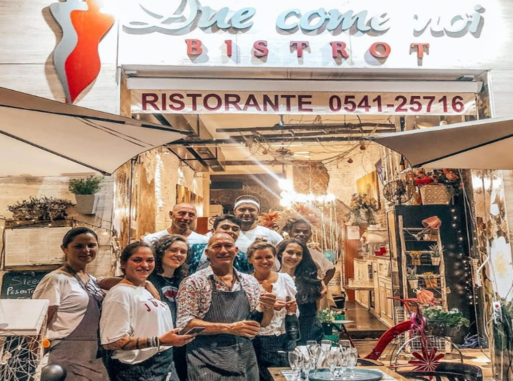 Staff Bistrot Due Come Noi a Rimini